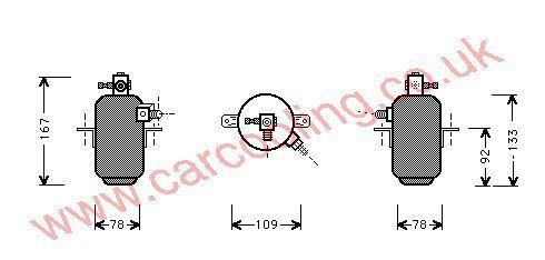 Drier Merc. C126 Coupe    1268300083