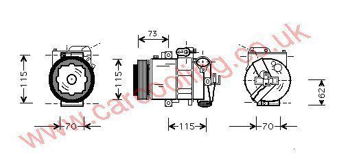 Compressor Audi A2 8Z0260805A