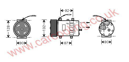 Compressor Volvo / L.K.W. FH 16    8191892