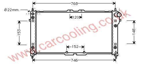 Radiator Mazda 626 IV K812-15-200 E