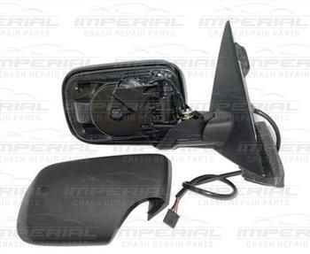 BMW 3 SERIES 98-05 DOOR MIRROR ELECTRIC HEATED MANUAL FOLD TYPE WITH PRIMED COVER (NO MEMORY) BM199ABCCR