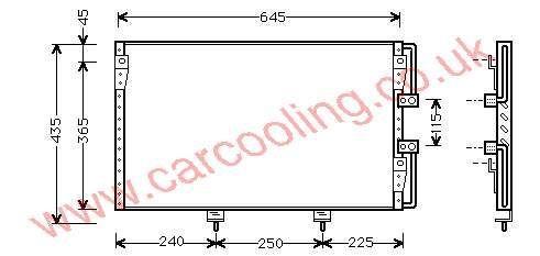 Condenser Lexus LS400    88460-50120