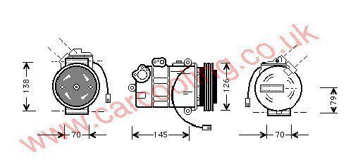 Compressor Skoda Superb 8D0260805J