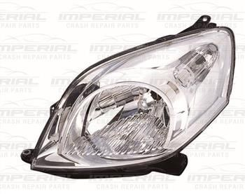 NEMO/FIORINO/QUBO/BIPPER 08- HEADLAMP CT335BKACL