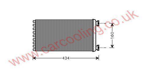 Evaporator MAN TG - A    81619206032