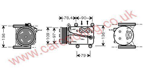 Compressor Jaguar -Type    XR820839
