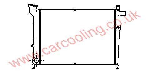 Radiator Nissan Bluebird T72    21410-Q9000
