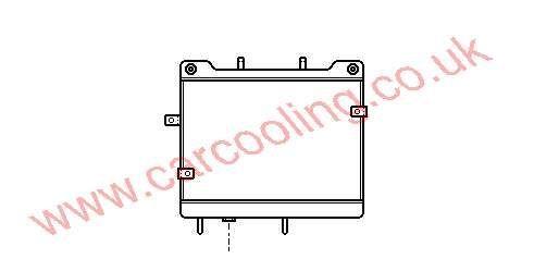 Oil Cooler Merc. W140 Saloon    140.501.1601