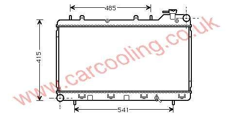 Radiator Subaru Impreza I 45199-FA040