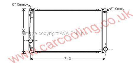 Radiator Toyota Rav 4    1640028570