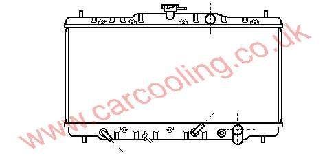 Radiator Honda Aero Deck 19010-PH4-671