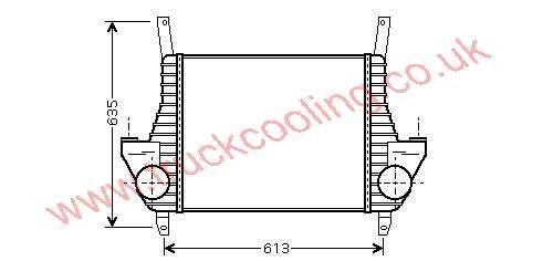 Intercooler Iveco Eurocargo Tector    500380659 /
