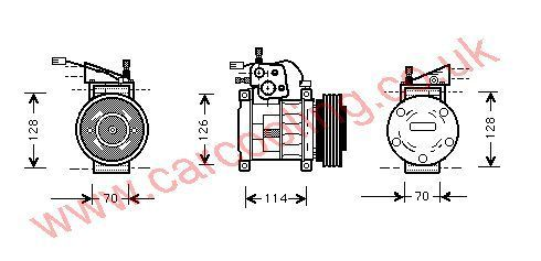Compressor Jeep Grand Cherokee A    56006551