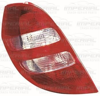 MERCEDES A-CLASS H/B 05-08 REAR LAMP CLEAR TYPE ME423AEACL