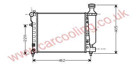 Radiator Citroen Saxo    1330.A6