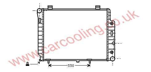 Radiator Merc. W210 E-Class    202.500.3503 / 3003