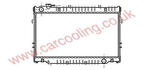 Radiator Toyota Landcruiser III    16400-17040