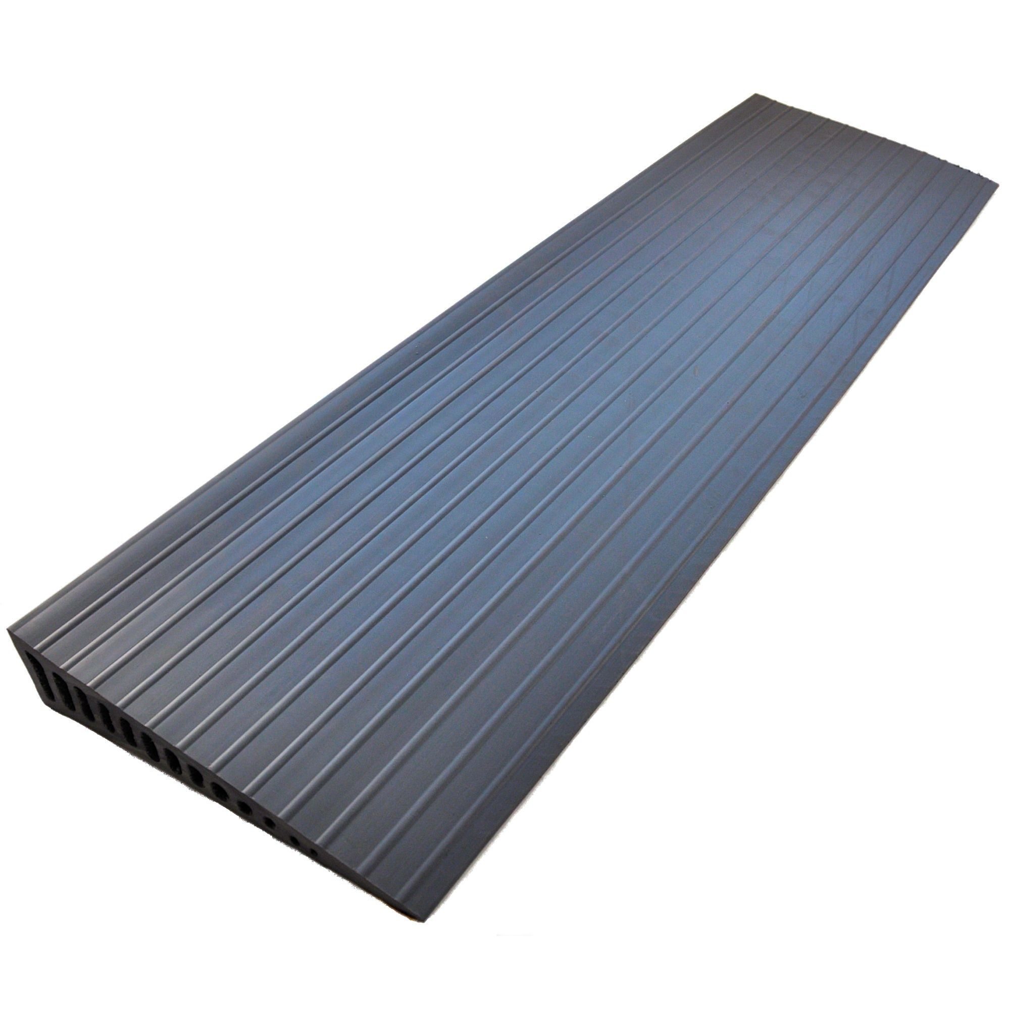28mm Grey Rubber Door Wedge Ramp