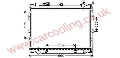 Radiator Mazda MPV WL11-15-200 B