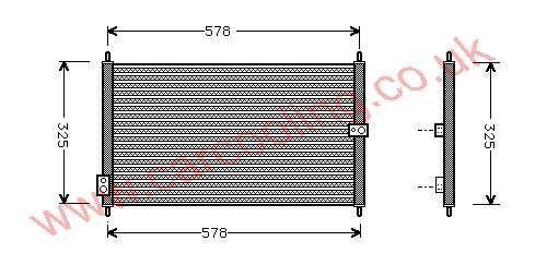 Condenser Honda Accord IV Coupe 80110-SV1-A21