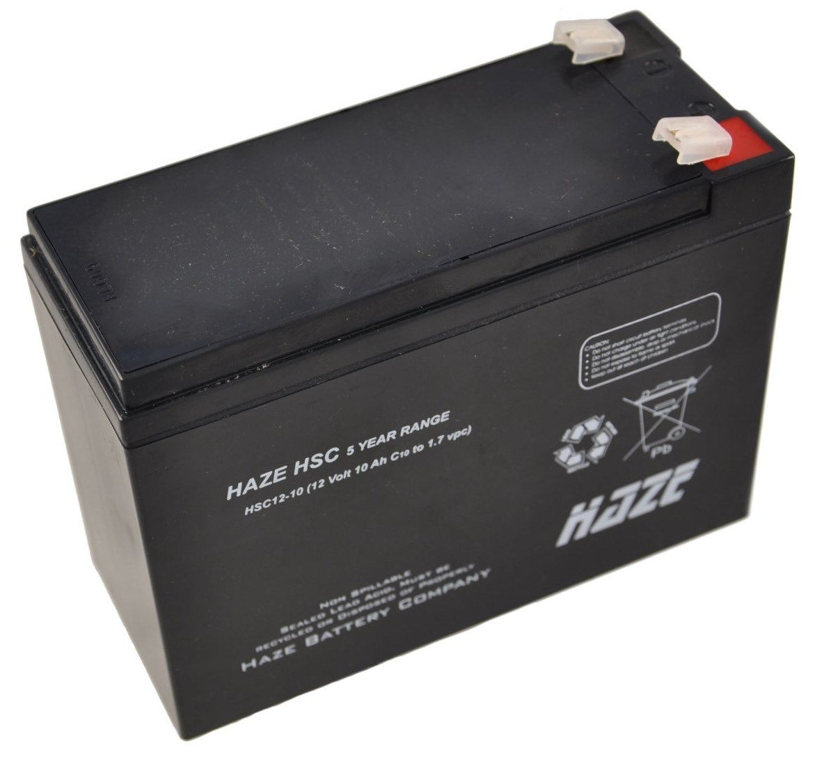 12V 10Ah Haze Sealed Lead Acid (AGM) Mobility Scooter Battery