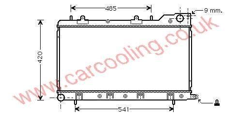 Radiator Subaru Forester    45111-FC310