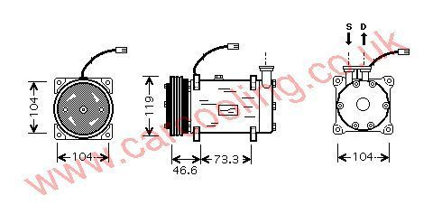 Compressor Citroen Berlingo Multi Space 6453FS