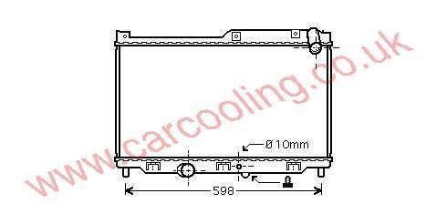 Radiator Mazda RX7    N3A1-15-200 A