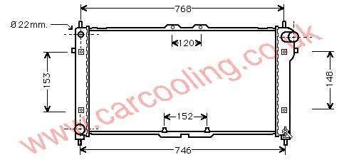 Radiator Mazda 626 IV    KL19-15-200 E / F