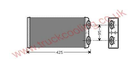 Heater Matrix Man M2000    81.61901.0067