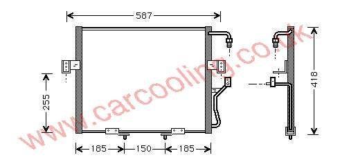 Condenser Kia Sportage II    OK011-61-480 C
