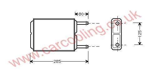 Heater Matrix Mazda 626 III Estate GJ21-61-A10