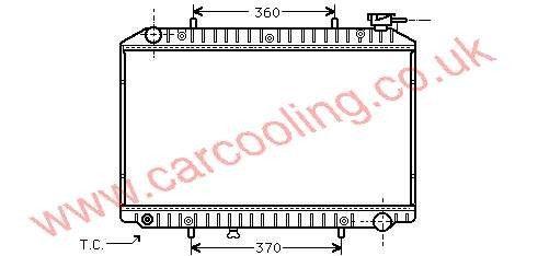 Radiator Nissan Serena    21410-9C600