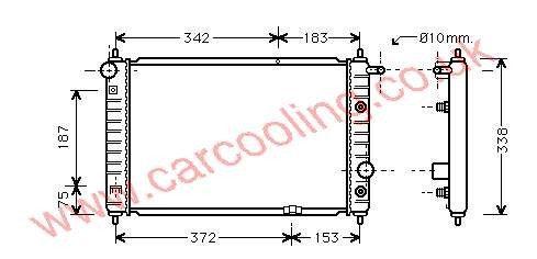 Radiator Chevrolet Matiz    96325520