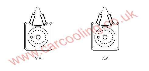 Oil Cooler VW Beetle    028.117.021 B / K