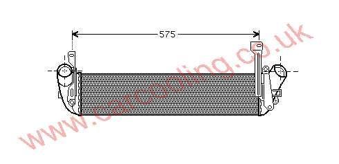 Intercooler Renault Kangoo    8200.221.885 /