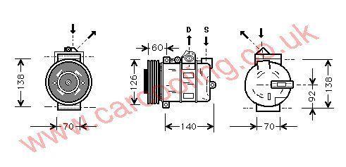 Compressor Rover 75    JPB000040