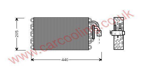 Evaporator BMW 7-Series E32    64118391277