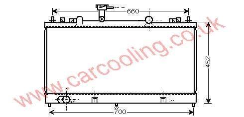 Radiator Mazda 6 RF5C-15-200 / A