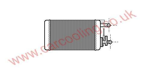 Heater Matrix Fiat Coupe    7590678 / 7754065