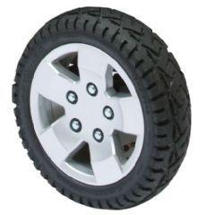 """Pride Colt Pursuit Pneumatic Tyre (4"""" x 13"""" Black Tyres)"""