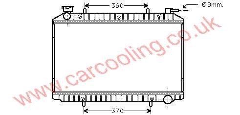 Radiator Nissan Serena    21410-7C002