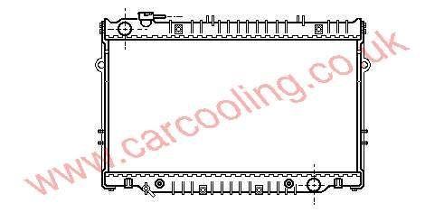 Radiator Toyota Landcruiser III 16400-17030
