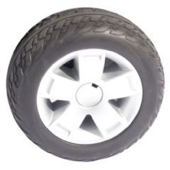 "Pride Colt Deluxe Rear Wheel Assembly (10.75"" Foam Tyre) WHLASMB1784"