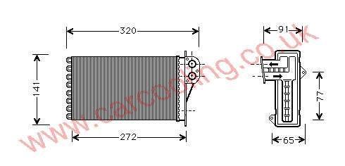 Heater Matrix Citroen Xsara Picasso    6448.G3