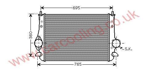 Intercooler Seat Alhambra II    7M3.145.804