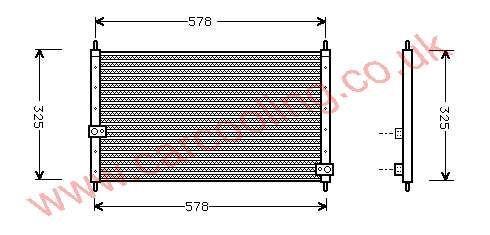 Condenser Honda Integra II    80110-ST7-A21