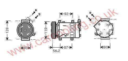 Compressor Citroen Berlingo 6453LF
