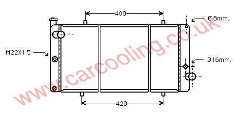 Radiator Lada Niva    21215-1301012