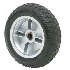 Pride Elite Traveller 3 Black Tyre Silver Rim (Rear) WHLASMB1840